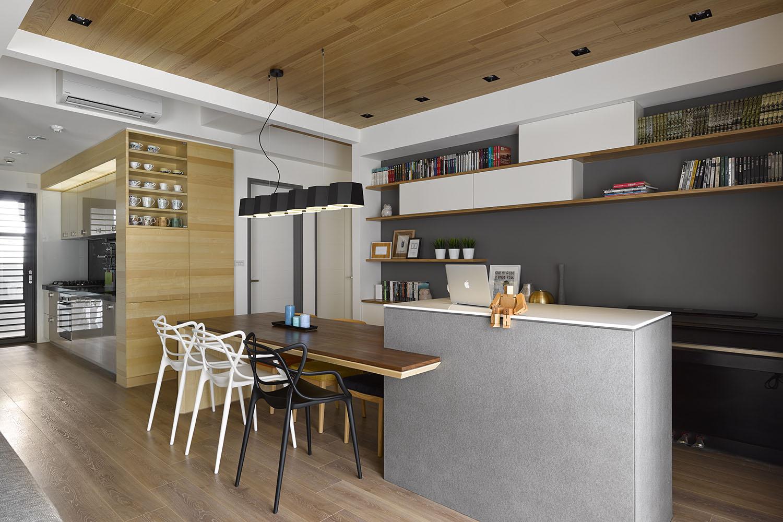 Dise o de cocina comedor moderno departamento construye - Cocinas diseno moderno ...