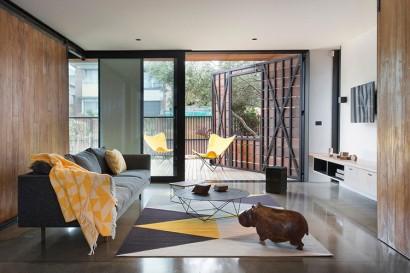 Diseño de sala sencilla