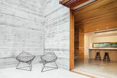 Diseño de sillas moderna terraza