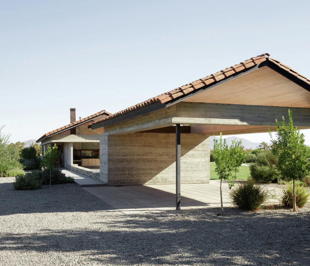 Estacionamiento fuera de casa construye hogar - Casas de campo diseno ...