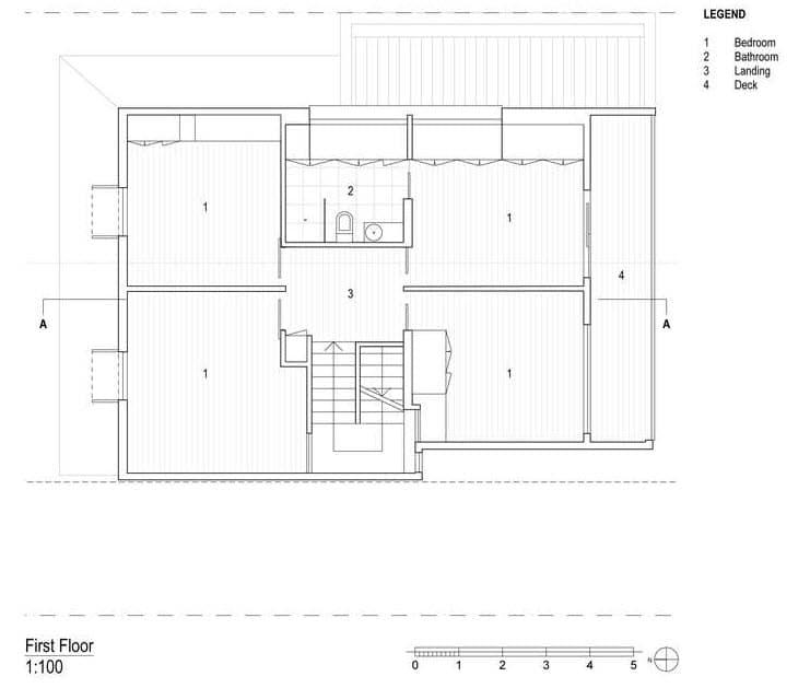 Plano de casa de dos pisos segundo piso construye hogar for Planos para segundo piso
