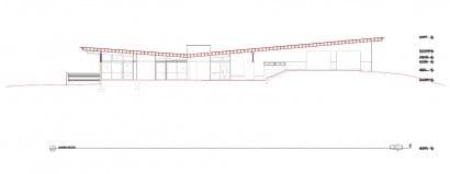 Plano de corte casa de un piso 001