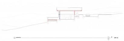 Plano de corte casa de un piso 002