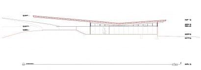 Plano de corte casa de un piso 004