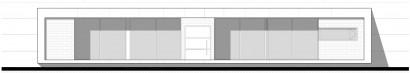 Plano de fachada casa un piso