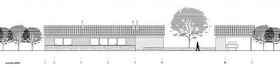 Plano de orientaci n oriente casa de un piso construye hogar - Orientacion de un piso ...