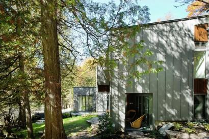 Diseño casa de campo dos plantas