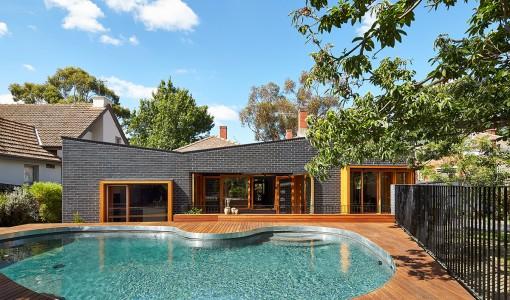 Diseño de casa de un piso moderna