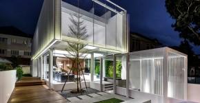 casa moderna con cuatro dormitorios diseo se abre al exterior como una caja de luz
