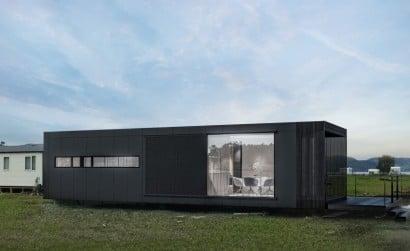 Diseño de casa tipo contenedor