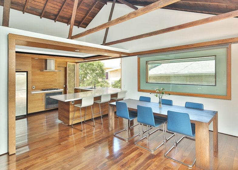 Dise o de cocina comedor madera construye hogar for Construye hogar