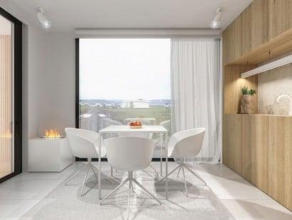 Diseño de comedor casa pequeña