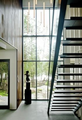 Diseño de escaleras moderna