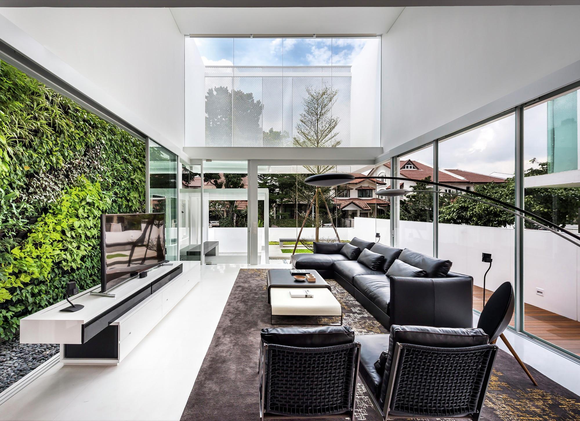 Casa moderna cuatro dormitorios construye hogar for Disenos de salas modernas