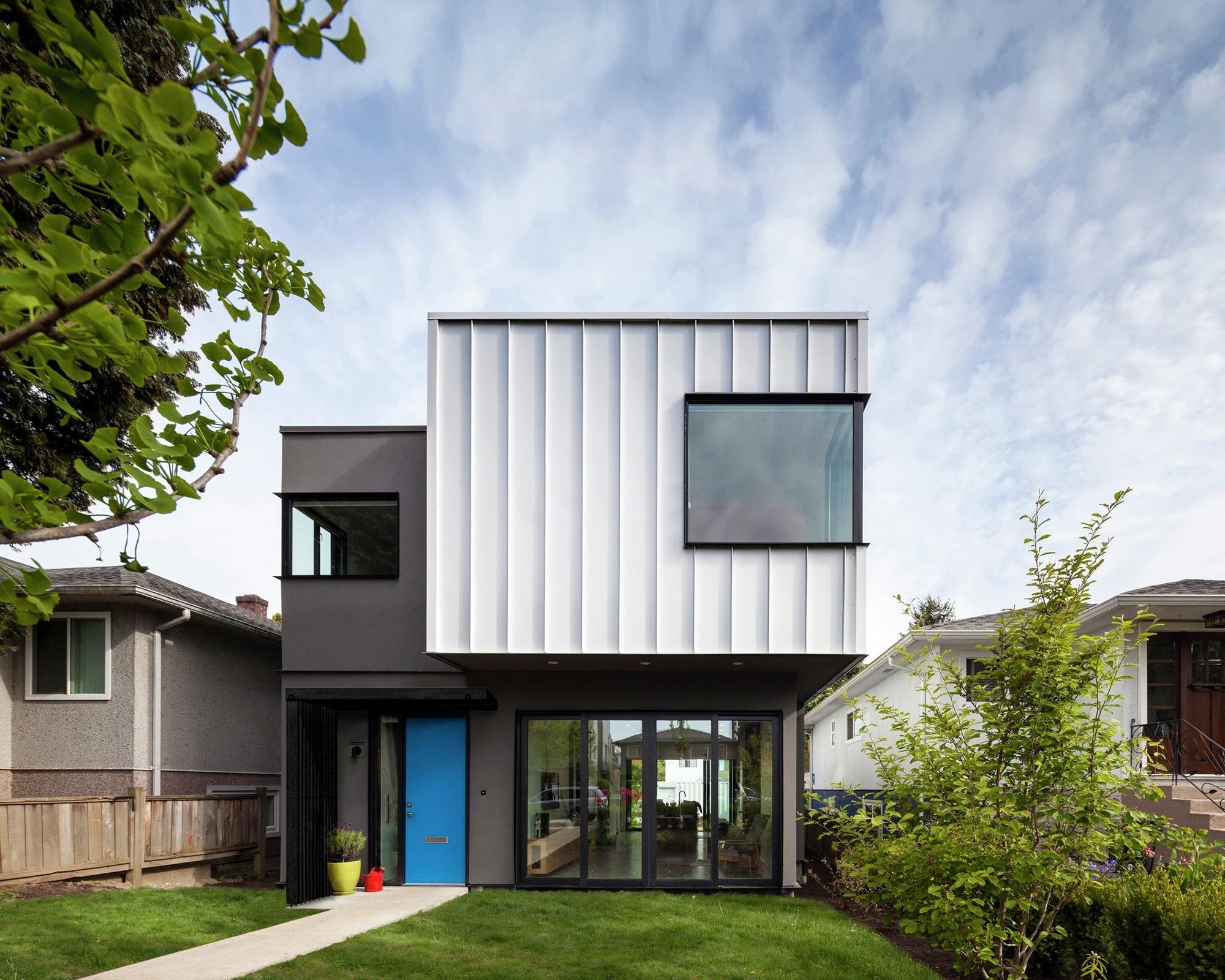 Planos casa econ mica dos pisos construye hogar - Diseno de casas con contenedores ...