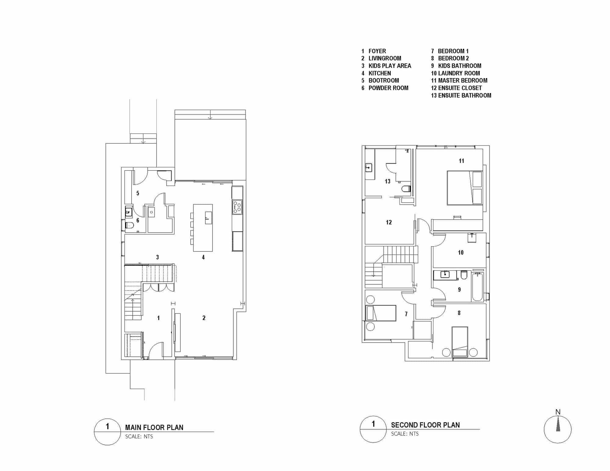 Planos casa econ mica dos pisos construye hogar for Planos de casas de dos niveles