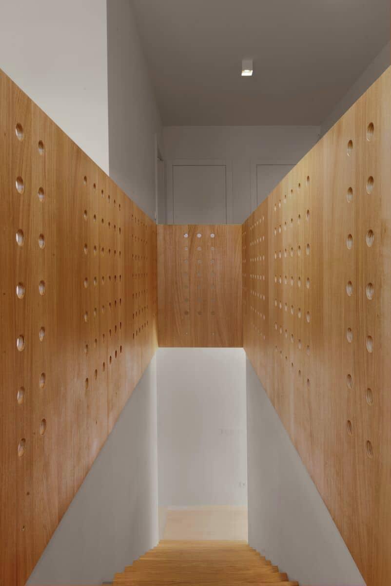 Planos de casa peque a de dos pisos construye hogar - Estanterias pequenas de madera ...