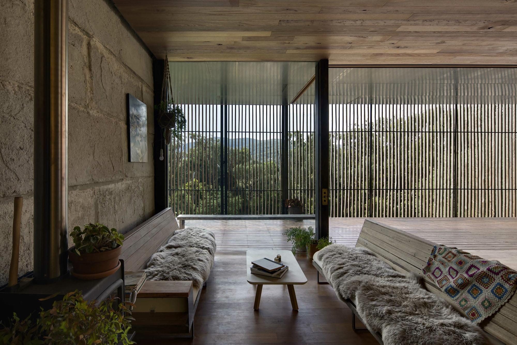 Dise o de muebles de madera r stico para sala construye - Diseno de muebles de sala ...