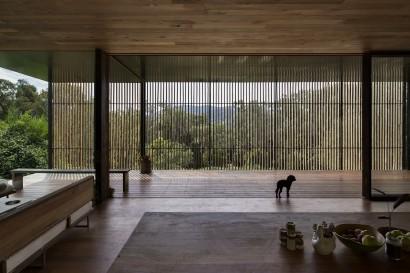 Diseño de sala y terraza