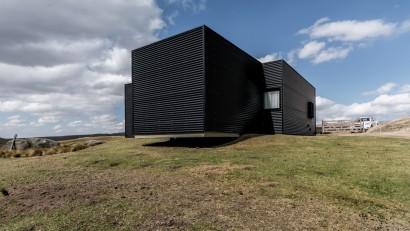 Perspectiva casa de campo