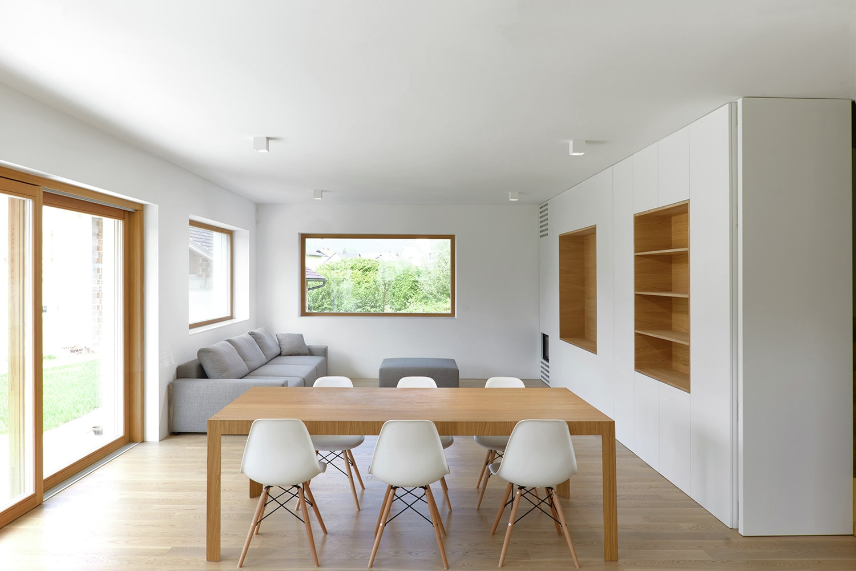 Planos de casa peque a de dos pisos construye hogar for Sala de comedor