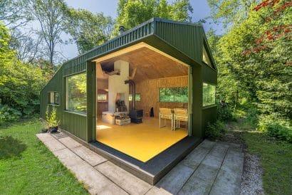Diseño de cabaña pequeña