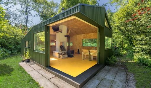 Casas peque as construye hogar for Casas de chapa para jardin