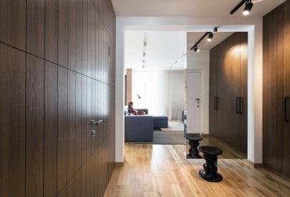 Interiores departamento pequeño