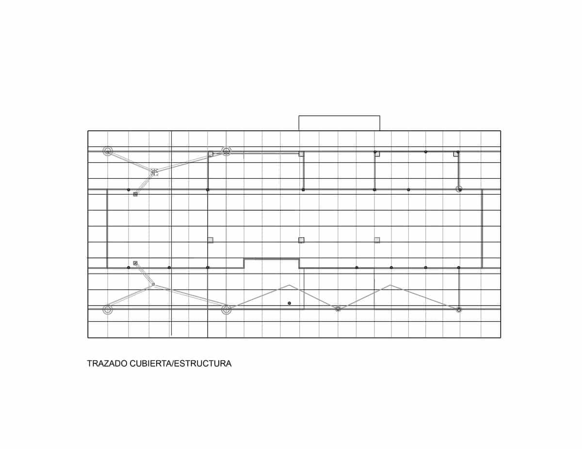 Plano de techos y estructuras portantes construye hogar for Planos de estructuras