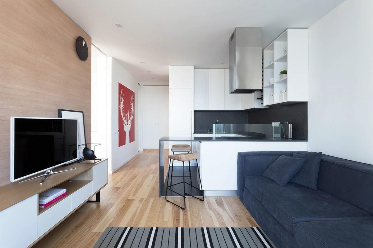 Departamentos peque os parejas con ni os construye hogar for Diseno de interiores espacios pequenos