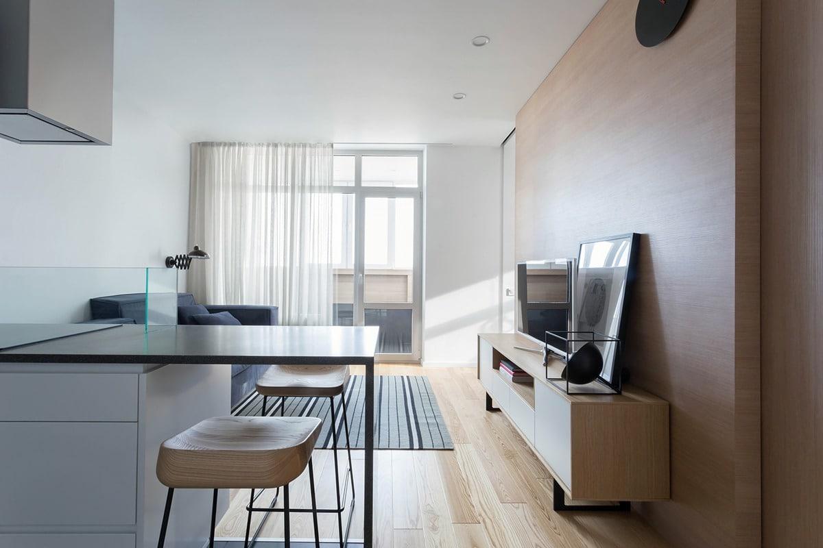 Departamentos peque os parejas con ni os construye hogar for Diseno de interiores departamento pequeno