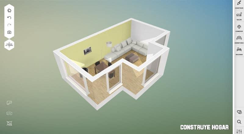 Amikasa aplicaciones para dise ar casas construye hogar for Programa para crear habitaciones 3d