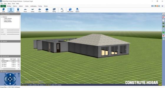Dreamplan aplicación windows para hacer planos