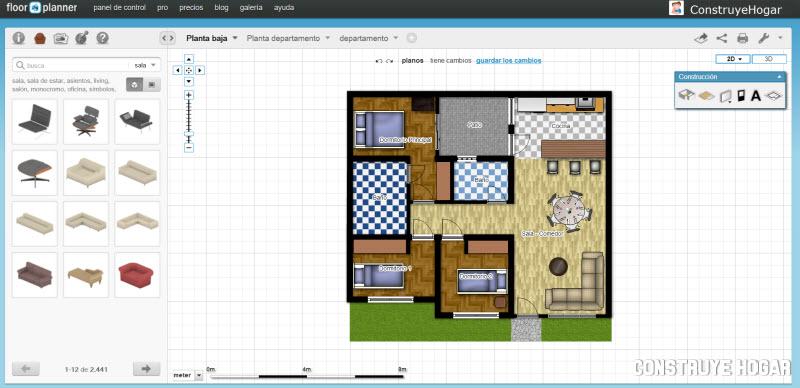 floorplanner aplicaci n hacer planos gratis construye hogar