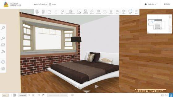 Aplicación para hacer planos de casas