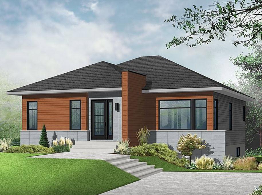 Dise os de casas de campo construye hogar for Casas modernas 4 aguas
