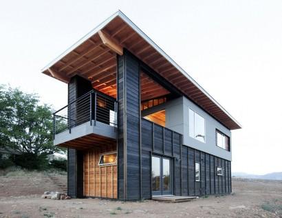 Casa de campo de dos pisos Diseño y fotos Hunter Leggitt Studio