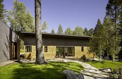 Diseño casa campo de dos dormitorios Diseño y fotos Carney Logan Burke Architects