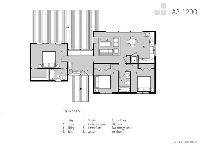 Dise os de casas de campo construye hogar for Planos de casas de campo de 3 dormitorios