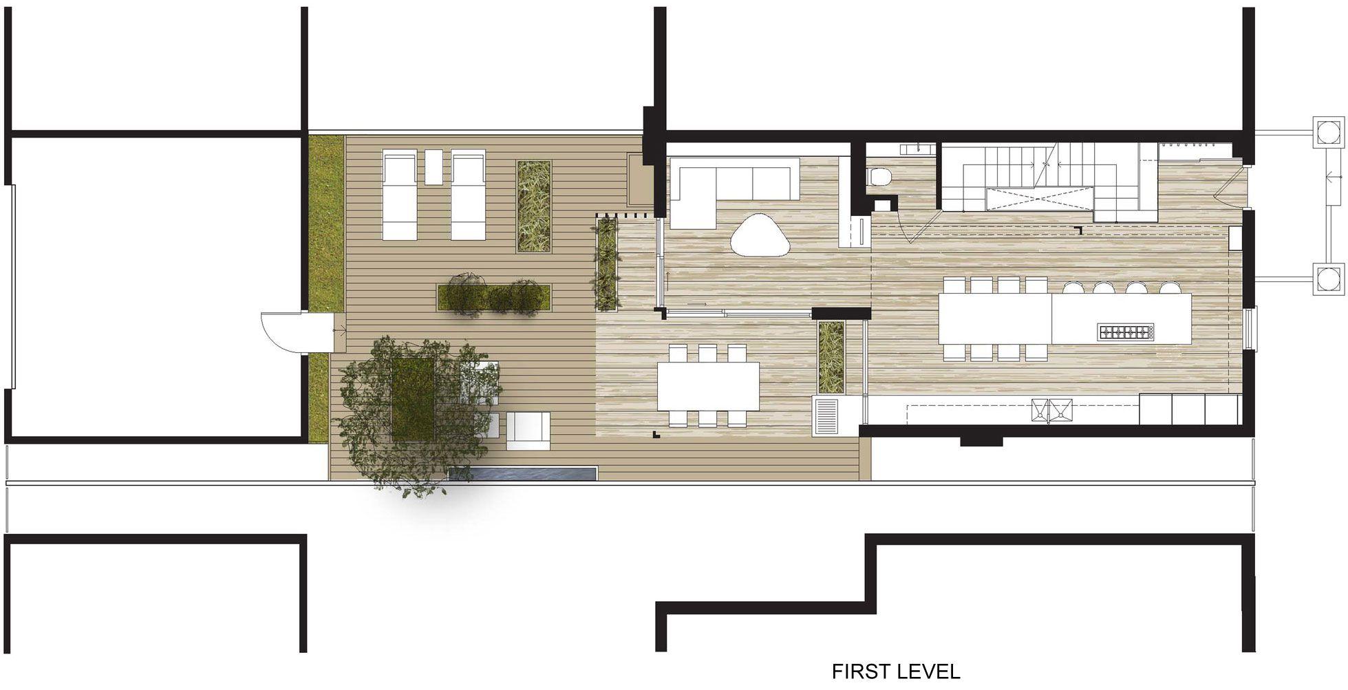 Ideas para casas en terrenos peque os construye hogar for Planos para construccion casas pequenas