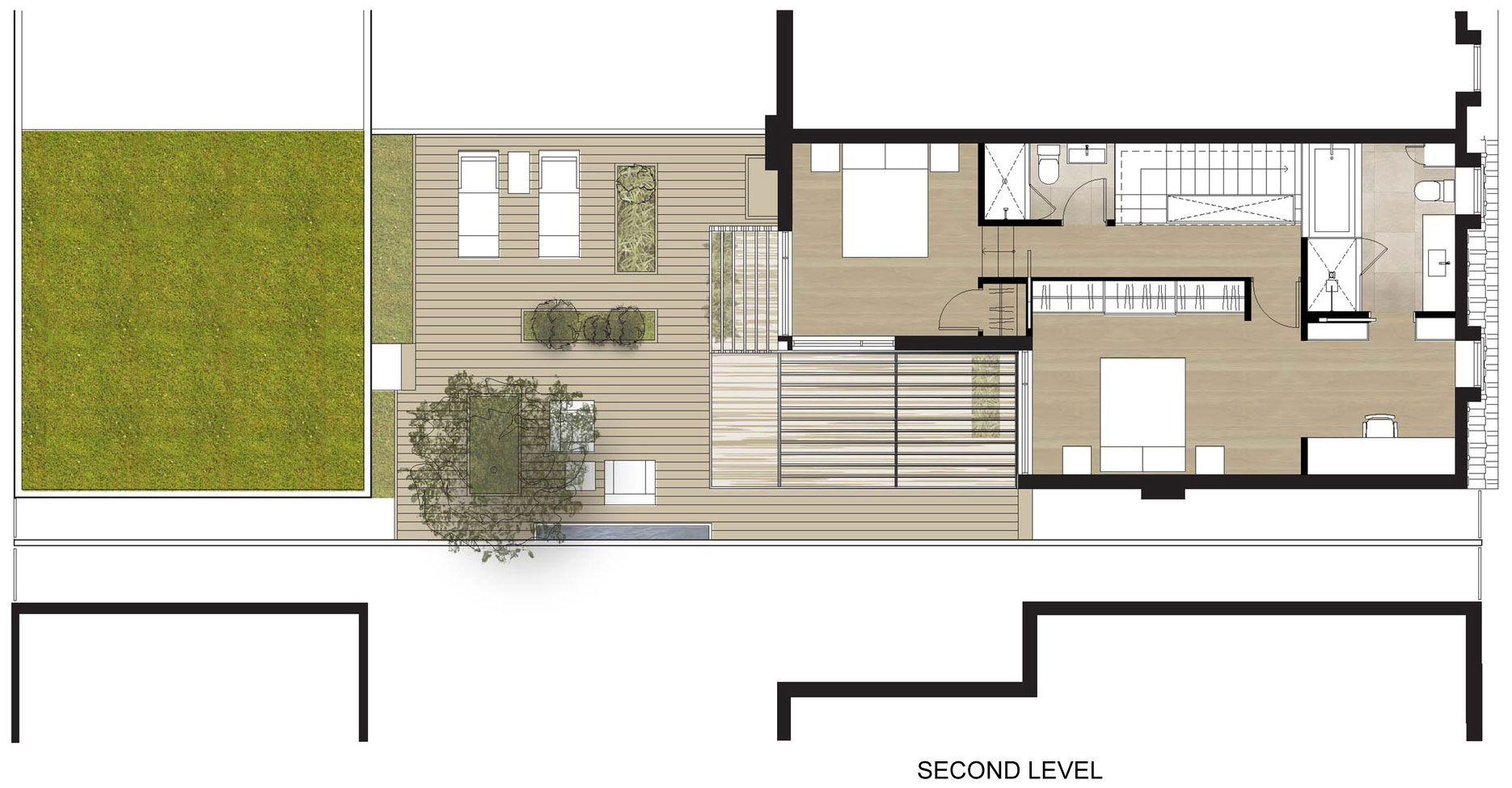 Ideas para casas en terrenos peque os construye hogar for Modelos de casa para segundo piso