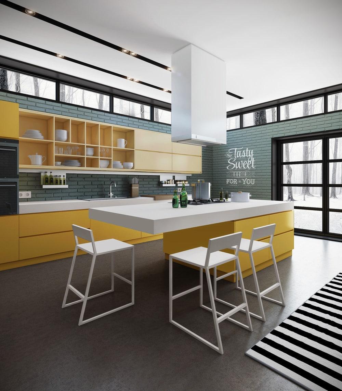Ideas de cocinas modernas, descubrí tendencias y líneas de diseño ...
