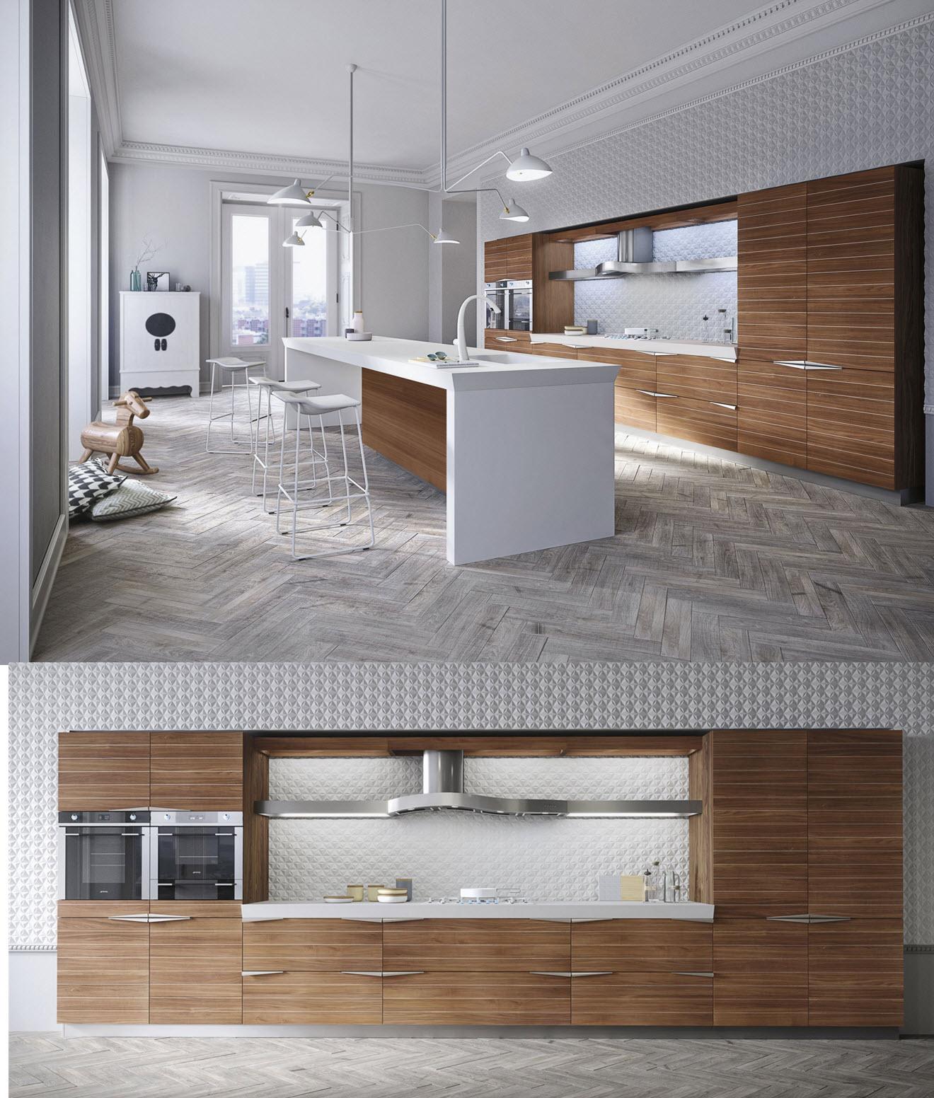 Ideas y dise o de cocinas modernas construye hogar for Cocinas integrales modernas