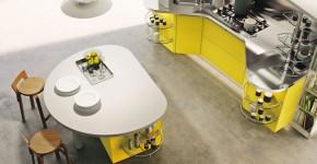 Mueble para cocina moderna