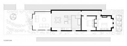Casa de un piso  dos dormitorios