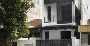 diseo de casa pequea de dos pisos solucin para mejorar la iluminacin y ventilacin en pequeos espacios
