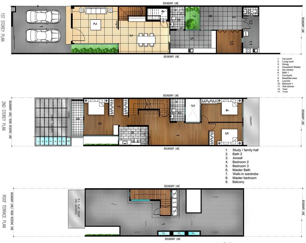 Planos de casa de dos pisos peque a construye hogar for Planos y fachadas de casas pequenas
