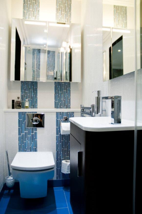 Dise o de cuartos de ba o c mo distribuir y decorar fotos construye hogar - Cuartos de banos modernos y pequenos ...