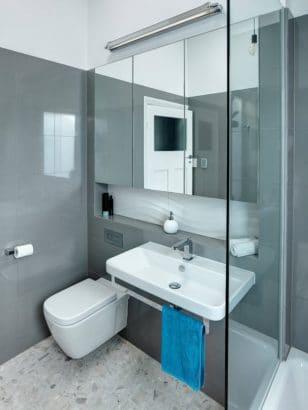 9. Cuarto de baño pequeño Brilliant SA