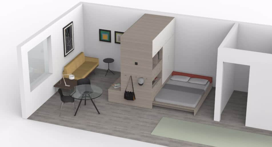 Ideas de dise o de departamentos peque os construye hogar for Muebles para departamentos pequenos